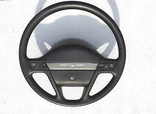 1989-1991 Ford Thunderbird black steering wheel with horn pad & cruise switches