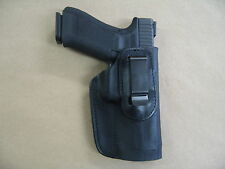 Taurus PT 809 9mm IWB Leather In Waistband Concealed Carry Holster CCW Black RH