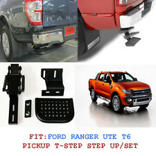 Fit 11+Ford Ranger Ute T6 Rear Step Up T Step Backup Step Set Xl Px Wildtrak Set
