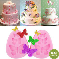 3D Butterflly Silicone Fondant Mold Sugar Candy Cake Chocolate Decorating Mould