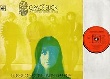 THE GREAT SOCIETY/GRACE SLICK conspicuous only in its absence 63476 1st uk LP