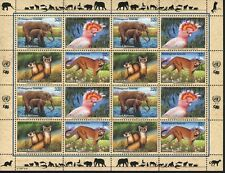 United Nations New York MNH Sc 700-03a FULL SHEET Endangered Species