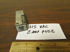 Fuse-Lite Vintage Space Program Panel Fuse Holder 115 VAC 2 AMP FUSE