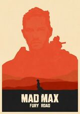 POSTER MAD MAX FURY ROAD CHARLIZE THERON TOM HARDY MEL GIBSON INTERCEPTOR #17