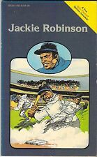 JACKIE ROBINSON POCKET BIOGRAPHY PICTURE QUIZ BOOK 1983