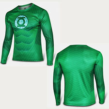 Mens Compression Marvel Superhero Long Sleeve T-Shirt Gym Sports Fitness Top Tee