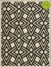 """Triangle Pattern Background"" Rubber Stamp by Hero Arts"