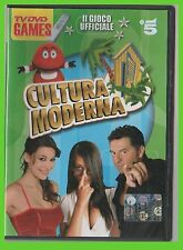 CULTURA MODERNA dvd game JULIANA MOREIRA teo mammuccari pc ps2 xbox cd rom