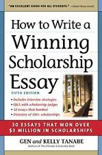 Supercollege - How To Write A Winning Schola (2014) - New - Trade Paper (Pa