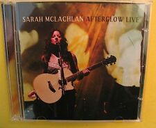 Afterglow Live 15-Song CD AND 23-Song DVD Sarah McLachlan 2 Discs 2004 Adia MORE