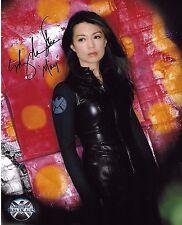 Ming-Na Wen Signed 8x10 Photo - Agents of S.H.I.E.L.D. - Shield - RARE!!! G911