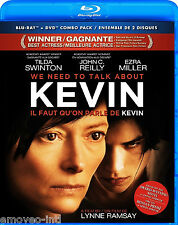 WE NEED TO TALK ABOUT KEVIN - WITH SLIPCOVER *NEW BLU-RAY/DVD COMBO*