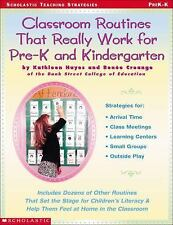 Classroom Routines That Really Work for Pre-K and Kindergarten: Dozens of Other