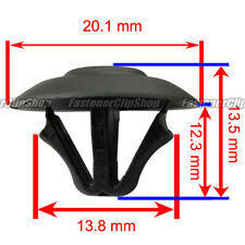 20 Hood Insulation Pad Clip Nylon Retainer A 21105 0019880325 For Mercedes Benz