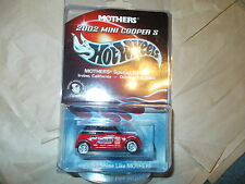 Hot Wheels Mothers 2002 Mini Cooper S special edition Irvine, CA #1/5000