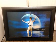 wall hanging Framed 3d Art Picture Michael Jackson size 69cm x 50cm approx