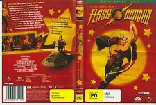 Dvd *FASH GORDON* 1980 Universal Pictures Early Cult Sci-Fi Comic Strip Classic!