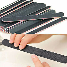 10x Black Sanding File Buffer Salon Manicure Polisher Tools Nail Art  Supply Hot