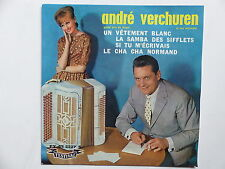 ANDRE VERCHUREN uN vetement blanc FY 45 2227 S  Musette accordeon