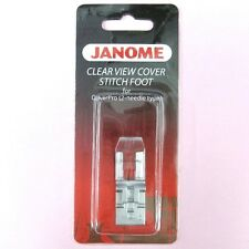Clear View Cover Stitch Foot #795821103 For Janome 900CPX CoverPro Machine