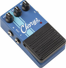 NEW FENDER STEREO CHORUS GUITAR EFECTS PEDAL COMPETITION SERIES