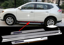 Body Door Sill Side Molding cover trim for 2014-2016 Nissan X-Trail Rogue ABS