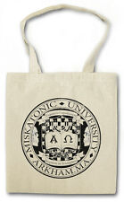 MISKATONIC UNIVERSITY I VINTAGE Hipster Shopping Cotton Bag - Arkham Cthulhu