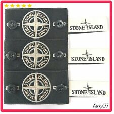GENUINE STONE ISLAND BADGE X3, WHITE GLOW SPECIAL, BUTTONS, LABEL. JUMPER JACKET