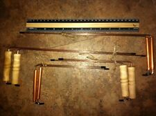 "SPECIAL  LOT ""4"" FOUR PAIR OF COPPER DOWSING RODS. GHOST HUNTING, WATER, NO.30"