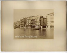Venedig, Canal Grande, Original Albumin-Photo, ca 1880