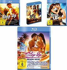4 Blu-rays *  STEP UP - 1 + 2 + 3 + 4 Miami Heat  IM SET  # NEU OVP +