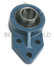 """NEW UCFB201-08  High Quality 1/2"""" Insert Bearing with 3-Bolt Bracket Flange"""