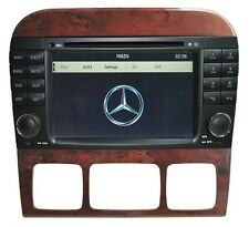 AUTORADIO/DVD/GPS/BLUETOOTH/NAVI/IPOD MERCEDES BENZ S/CL-CLASS W220/W215 HL-8800