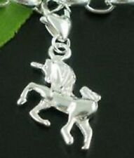 BEAUTIFUL SILVER UNICORN CLIP-ON CHARM FOR CHARM BRACELETS - NEW
