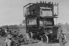 A Mobile Motor Lorry Pigeon Loft In WW1 Photo 6x4