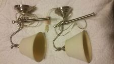 pottery barn adair wall light sconces (set of 2)