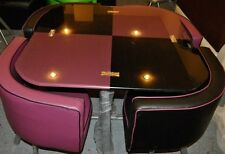 Glass dining table and 4 chairs ...-