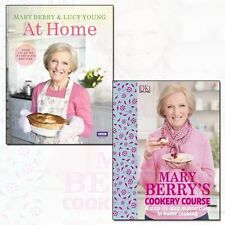 Mary Berry at Home and Mary Berry's Cookery Course 2 Books Set Pack English NEW