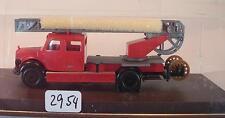 Brekina 1/87 4030 Mercedes Benz L311 Leiterwagen DL25 Feuerwehr neutral OVP#2954