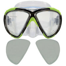 Scuba Dive Prescription Gauge Reader Bifocal Mask +2.75