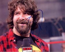 MICK FOLEY signed autographed WWE RAW WRESTLING photo