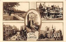 POSTCARD   CHESTER    Greetings