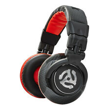 Numark-red Wave carbon Headphones Black/Red