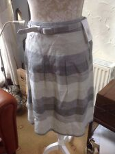 "��**M&S �� Size UK16 (EUR 44) Grey Mix Skirt- Belt Length 24.5"" -BNWT RRP £35"