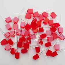 PTH * 50 Pcs RED Fun Shaped LEDs * Create with brick LEDs * Special LEDs