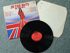 20 Fab No1's of the 60's, 33 rpm vinyl record with sleeve.