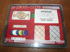 VTG 1980 Seize/16-Jeux-Club Card Game French Game Ateliers/Playbox EUC RARE!