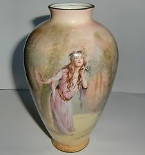 Royal Doulton Shakespeare Ophelia Vase - Early 20th century