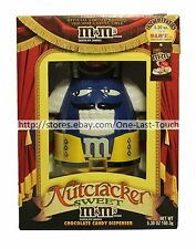 M&M's* Collectible NUTCRACKER SWEET Candy Dispenser HOLIDAY Limited Edition BLUE