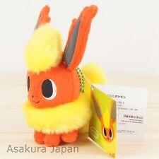 Pokemon Center pokémon time Eevee COLLECTION Flareon Plush Mascot Key Chain